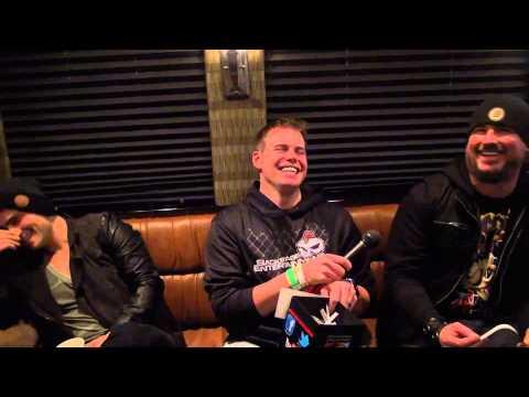 Trivium Interview #2 in Lincoln, NE - Backstage Entertainment