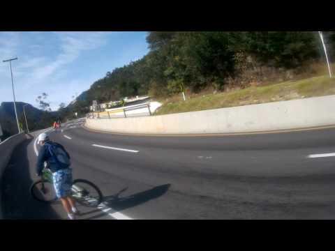 caída en bici descenso vino la vega