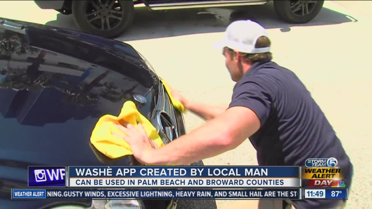 Car wash app created by South Florida man