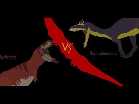 KSBA-Cryolophosaurus VS Lythronax