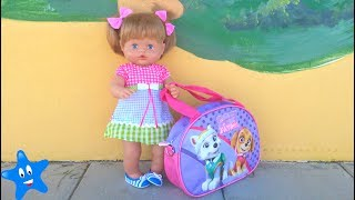 Primer día de guardería estrena mochila de la Patrulla Canina con accesorios mi Nenuco Ani thumbnail