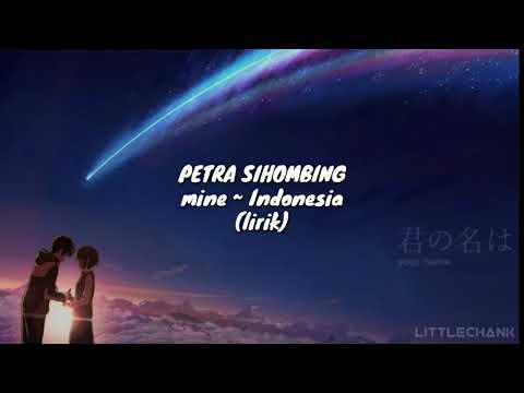 Petra Sihombing - Mine ~ Indonesia Ver. (lirik)