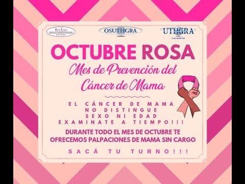 OCTUBRE ROSA - MES DE PREVENCIÓN DEL CÁNCER DE MAMA