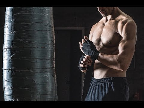 20 Minute Boxing Heavy Bag HIIT Session 3 | NateBowerFitness