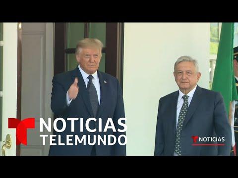 López Obrador agradece a Trump por su