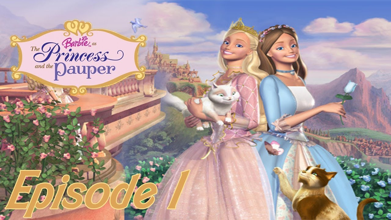Let 39 s play fr barbie coeur de princesse ep 1 le - Barbie en princesse ...