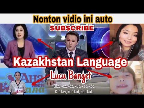 Lucu banget ! Begini ternyata Bahasa negara Kazakhstan, Ngebut banget😂   Kazakhstan language