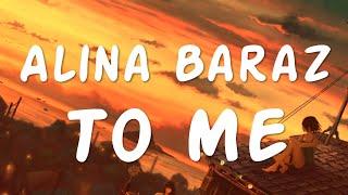 [R&B/Soul] Alina Baraz - To Me