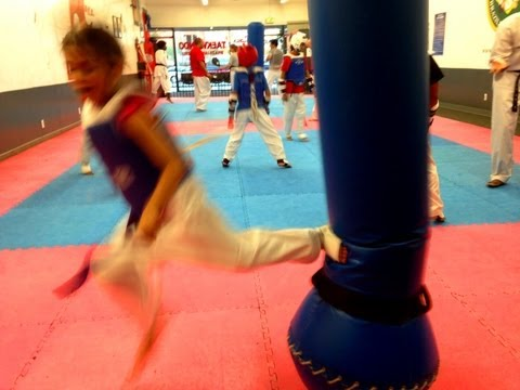 6 Years Old TaeKwonDo Fighter from Lima Academy Culver City CA