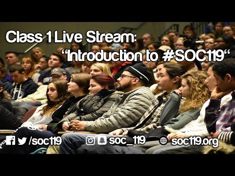 """Introduction to #SOC119"""