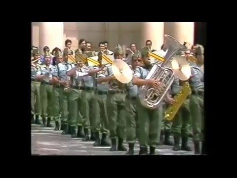 Banda de Musica de la Legion.-V Festival de Musica Militar -Teruel 1982-
