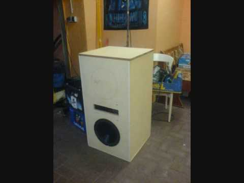 eigenbau monster subwoofer youtube. Black Bedroom Furniture Sets. Home Design Ideas