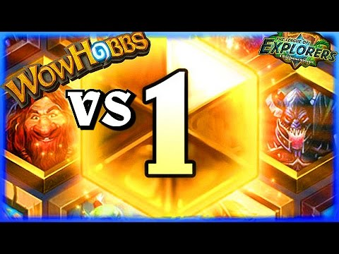 Hobbs VS Legendary Players ~ Hearthstone Heroes of Warcraft The League of Explorers Video