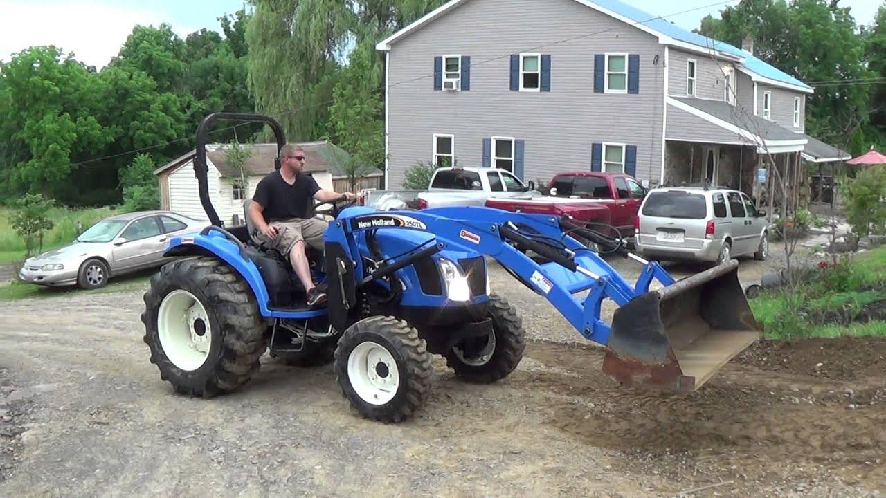 New Holland tc35d Manual mower on