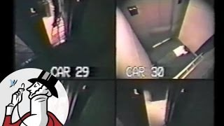 Footage of a Man Who Spent Forty-One Hours Trapped in an Elevator