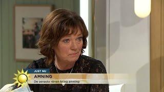 Tips till dig som ammar - Nyhetsmorgon (TV4)