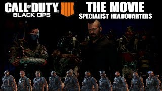 CALL OF DUTY BLACK OPS 4: THE MOVIE - ALL SPECIALIST HEADQUARTERS STORY CUTSCENES