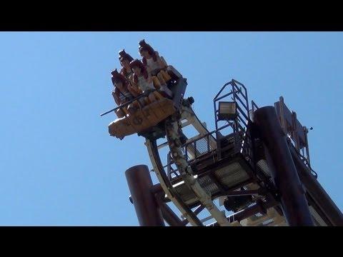 Sequoia Adventure Roller Coaster POV S&S Screamin' Squirrel Gardaland Italy