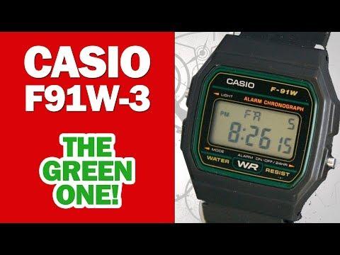 Casio f 201wa 9 men 39 s wristwatch module 3196 or module doovi for Pro trek abc watch prw 3100t