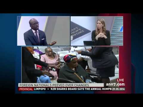 Minister of Home Affairs, Malusi Gigaba V.S. Craig Smith Immigration Lawyer