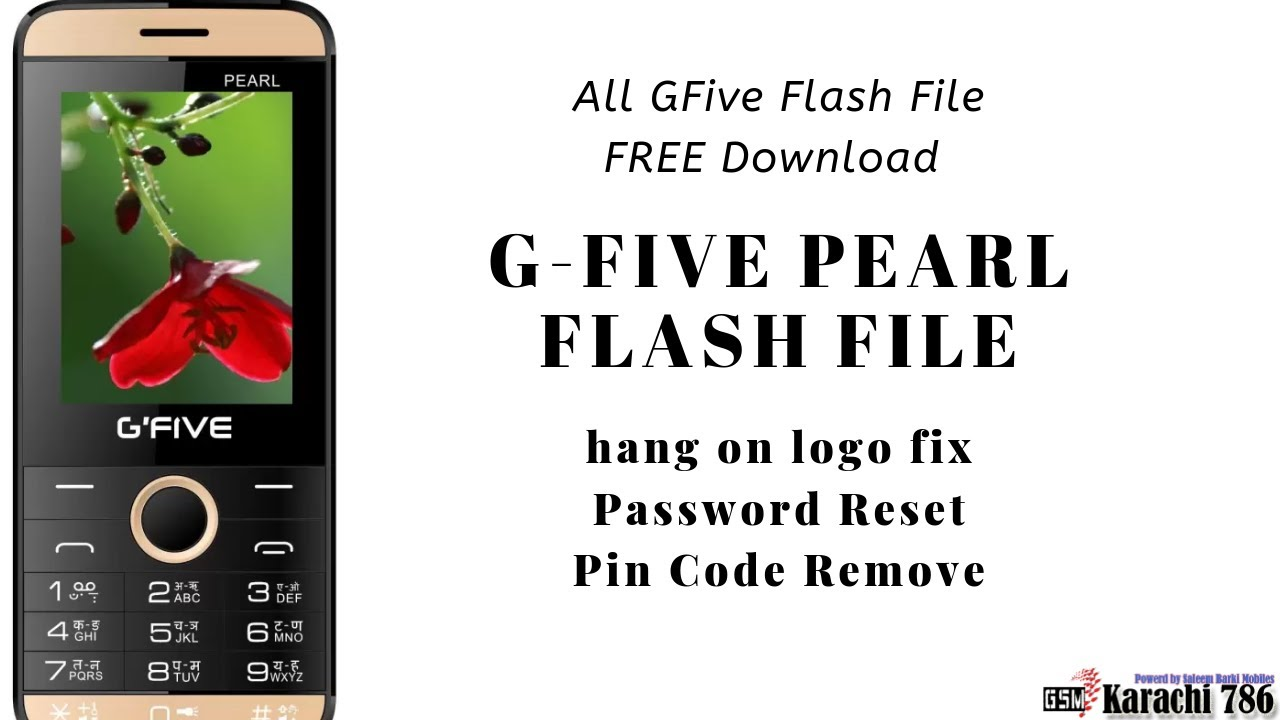 How To Flash/Hard Reset GFive Pearl With CM2 Dongle
