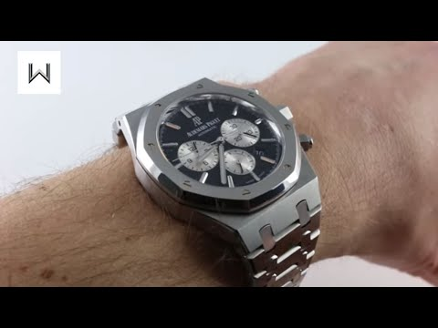 Pre-Owned Audemars Piguet Royal Oak Chronograph 26331ST.OO.02 Luxury Watch Review
