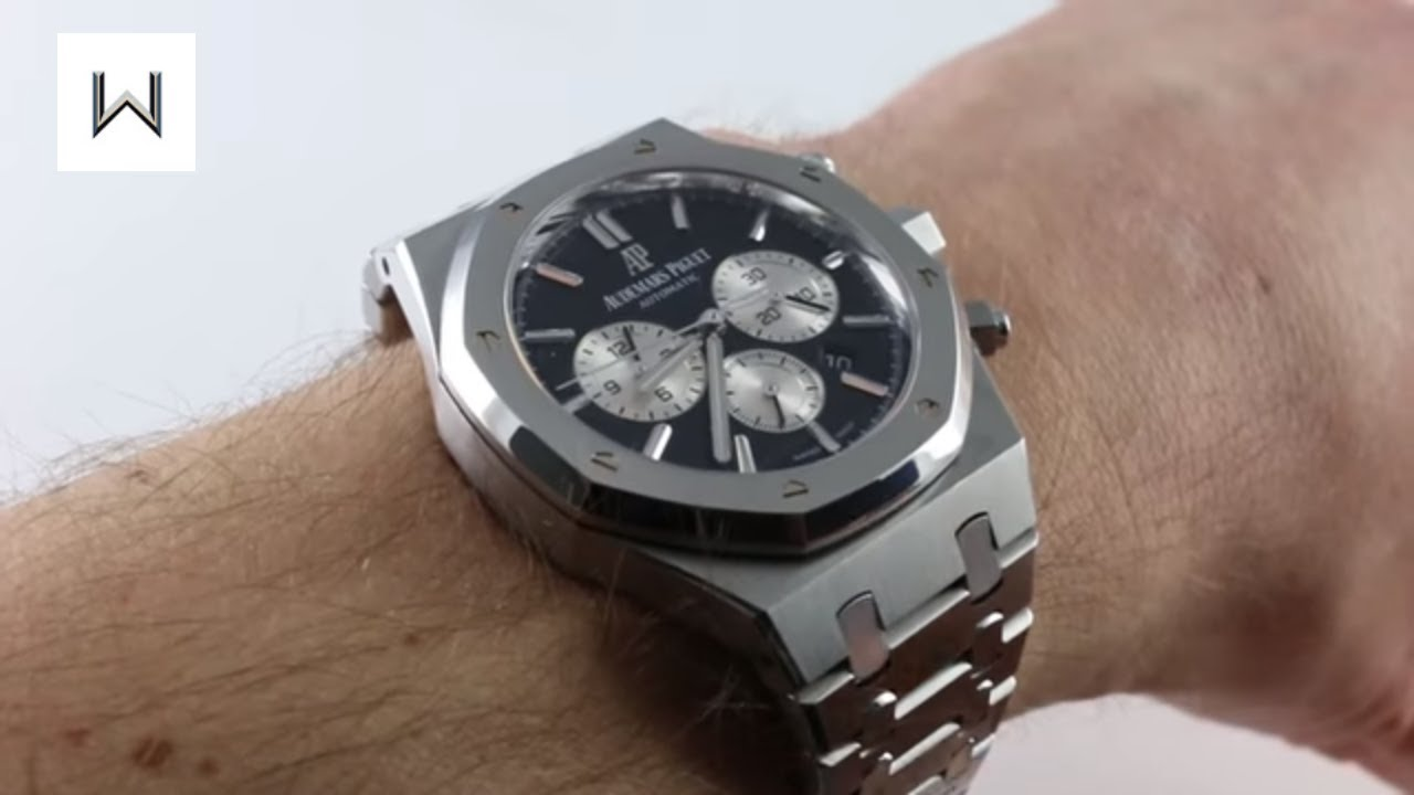 Pre Owned Audemars Piguet Royal Oak Chronograph 26331st Oo 1220st 02 Luxury Watch Review