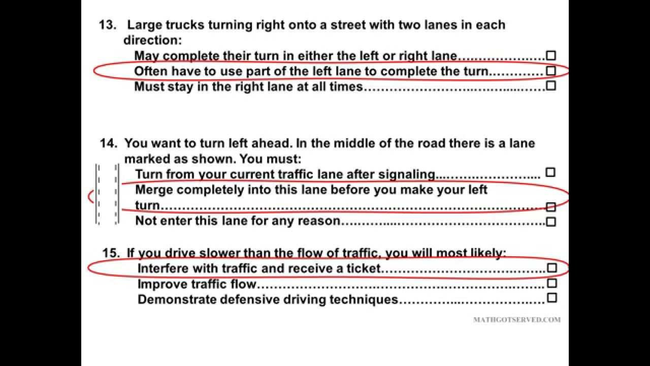2019 DMV Learners Permit Test Part 5 Pass get your license released  questions