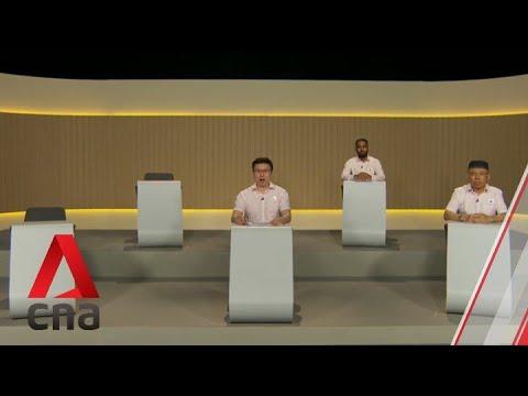 GE2020: NSP Candidates For Sembawang GRC Speak In Constituency Political Broadcast, Jul 7