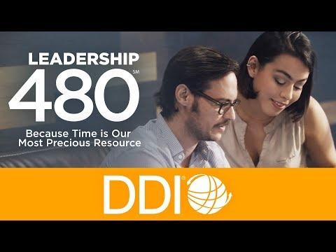 DDI Launches Leadership 480 to Tackle Leaders' Biggest Problem: Time