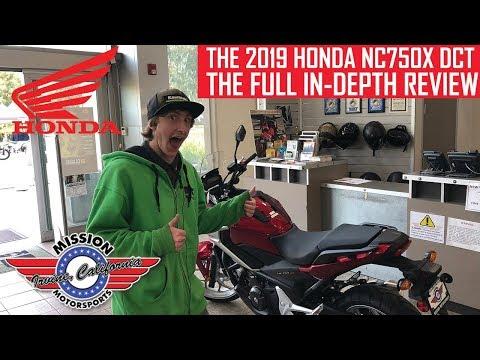 FULL REVIEW: 2019 Honda NC 750X DCT
