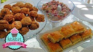 Çay Saati Menüsü✔️Hindistan Cevizli Sürpriz Kurabiye,10 dakikada fırında- bayatlamayan Ayşenur Altan