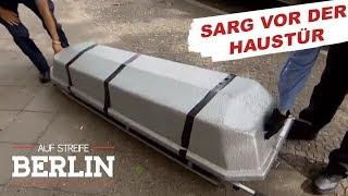 Unglaubliche Entdeckung: Was ist in dem Sarg? | Auf Streife - Berlin | SAT.1 TV