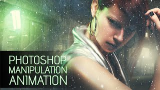 Photoshop Manipulation with Video Animation Effects Tutorial ( Part 1 )