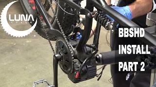 BBSHD 1000w Install Part - 2