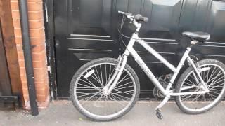 Aluminium TALL Ladies Mountain Bike ( VIDEO) Raleigh Tundra =18 Gears