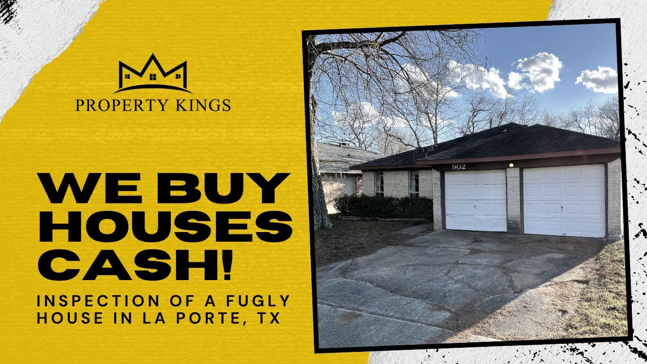 We Buy Houses Cash in Any Condition | Walk Thru of a Fugly House in La Porte, TX | Estate Sale