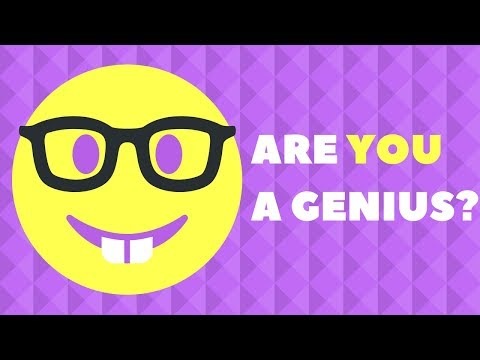 Thumbnail: 5 Questions Only a Genius Can Answer! - Genius IQ Test