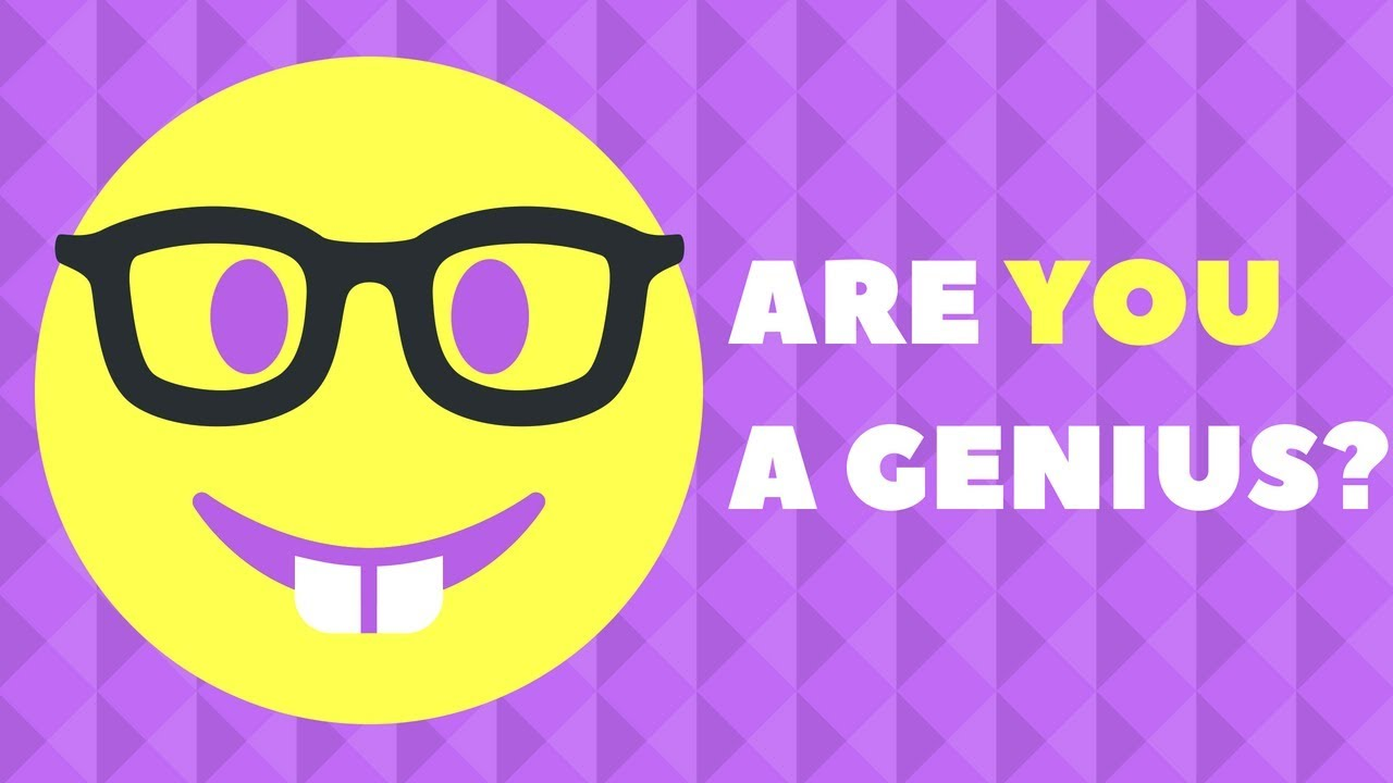 Genius IQ Test: Questions Only A GENIUS Can Answer (IQ ...