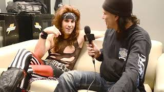 satchel from steel panther talks about stuff and things