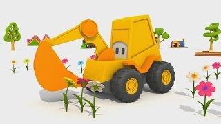 Cartoni animati per bambini - L'escavatore max e la fantastica giostra: i fiori