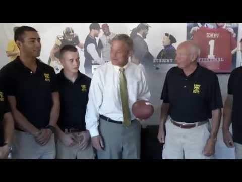 28th Annual Army ROTC Game Ball Run on YouTube