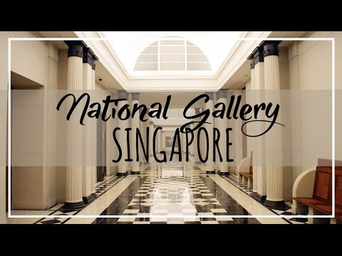National Gallery Singapore 1 Minute TOUR