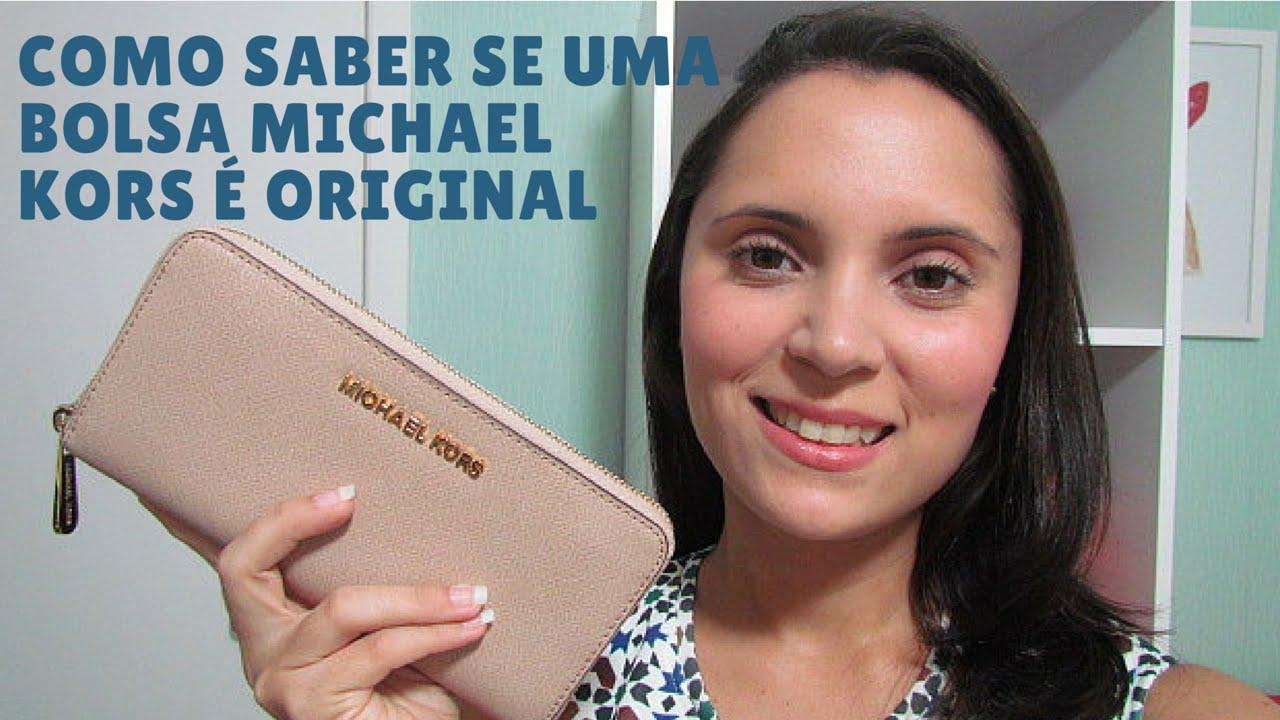 Como Identificar uma Bolsa Michael Kors Original - YouTube 6586bb6844
