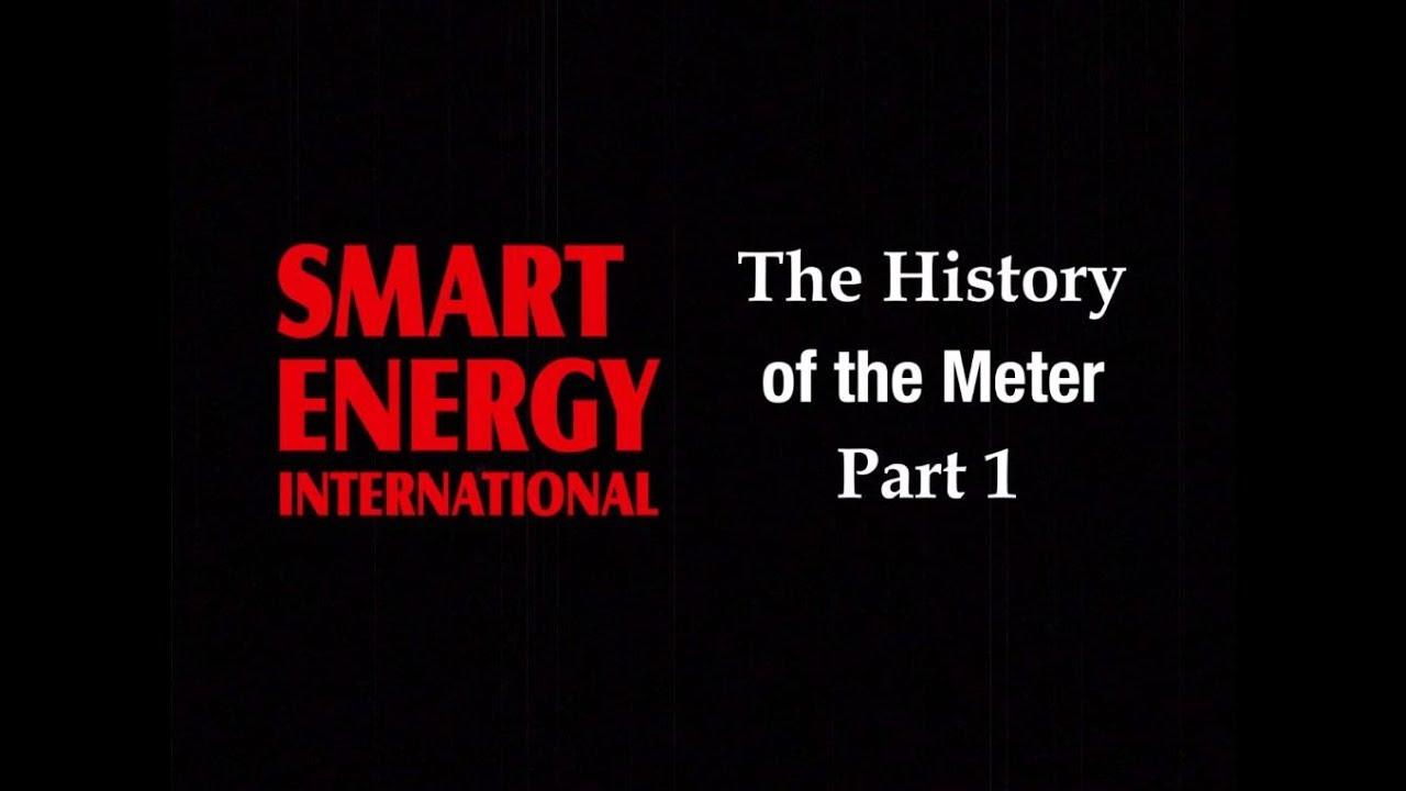 The history of the electricity meter | Smart Energy