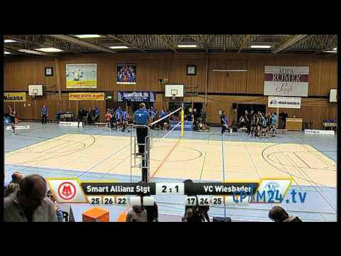 Volleyball Smart Allianz Stuttgart - VC Wiesbaden Teil 6