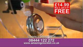 The Amazing Clock Kit - The Happy Puzzle Company Tv Advert