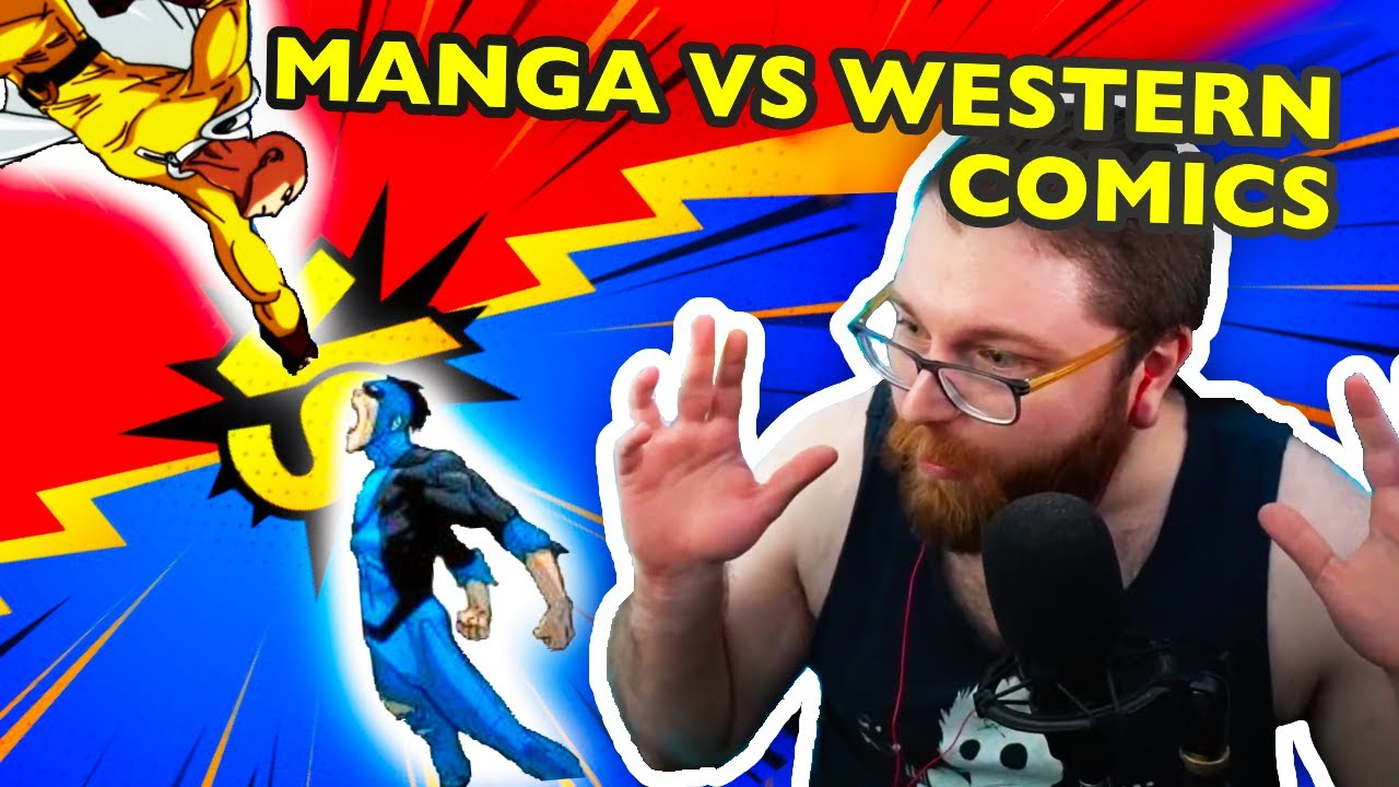 Download Vaush on Manga VS Western Comics
