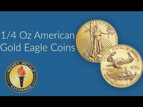 1/4 Oz Gold Eagle Coin | U.S. Mint | Money Metals Exchange