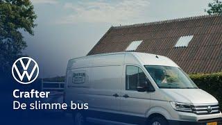 Volkswagen Crafter - Je hebt bussen. En je hebt slimme bussen